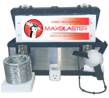 maxblaster res ozone generator performance package