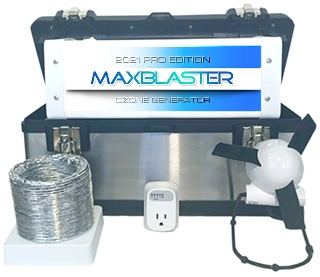 shop maxblaster ozone generators for odor mold removal