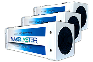 maxblaster ozone generator commercial packages